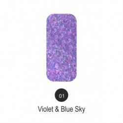 TWEED effect 01 - Violet &...